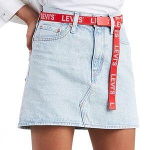 Women's Levi's JeanSkirt (Sz6&12)Belt Not Included